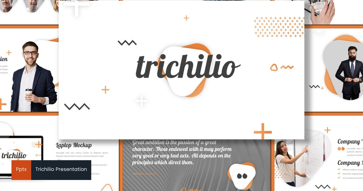 Download Trichilio - Powerpoint Template by inspirasign