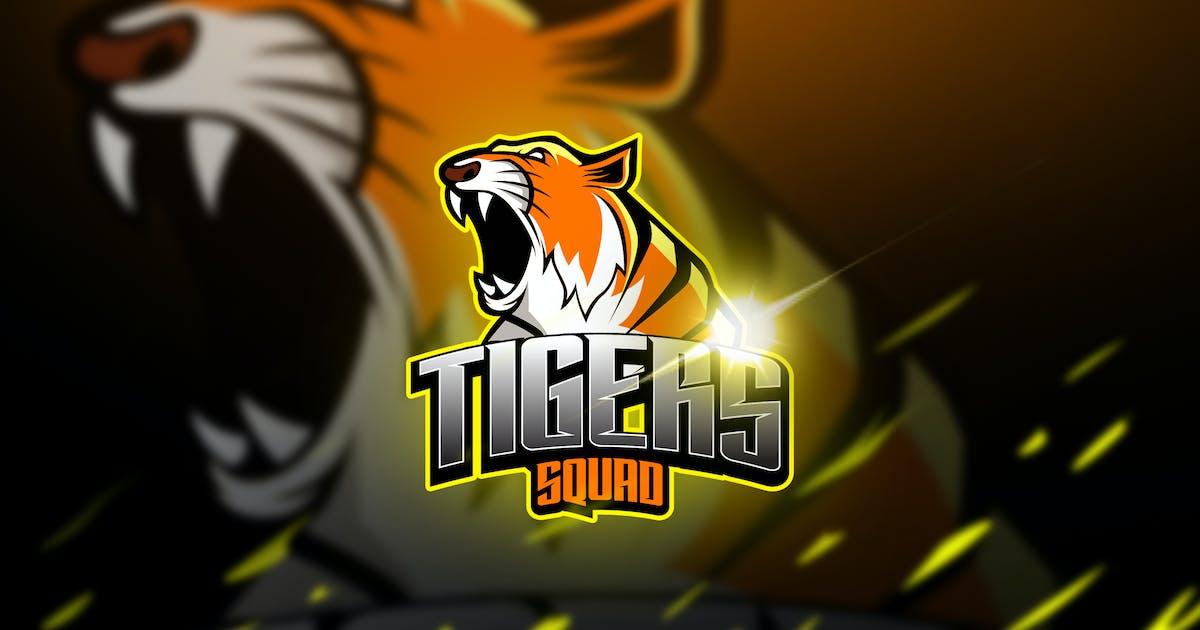 Download Thigers - Mascot & Esports Logo by aqrstudio