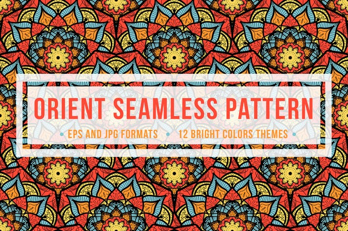Cover Image For Orient Seamless Pattern