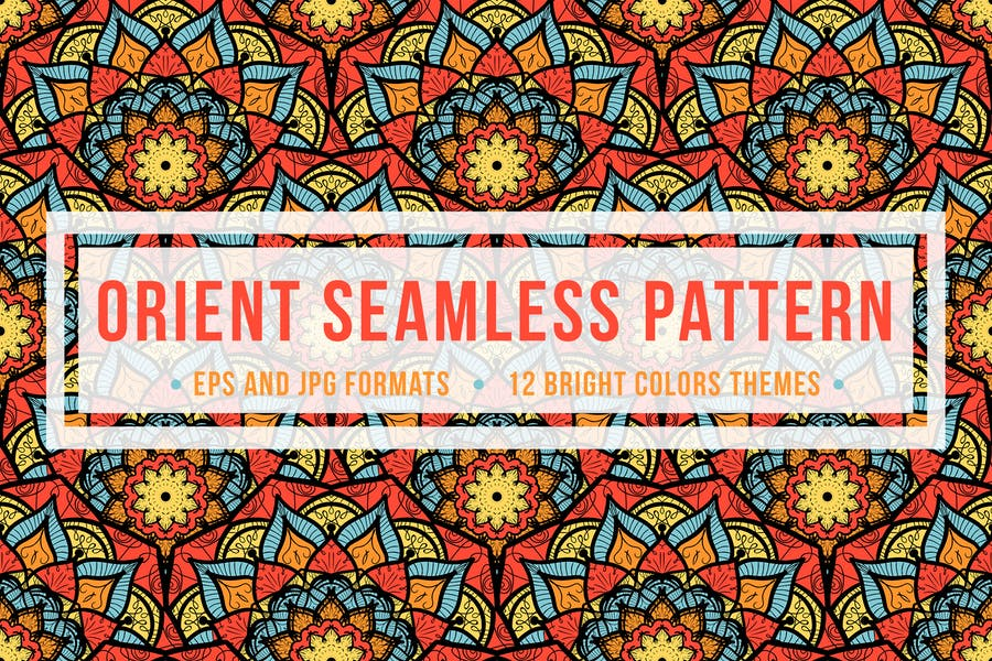 Orient Seamless Pattern - product preview 0