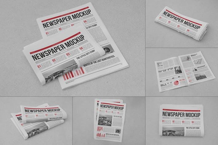 Thumbnail for Zeitung Mock-up
