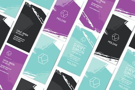Moldar Business Card Template