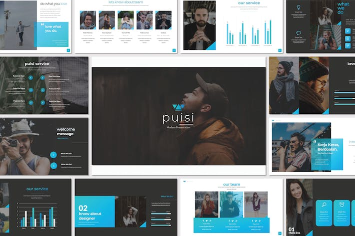 Thumbnail for Puisi Business Powerpoint