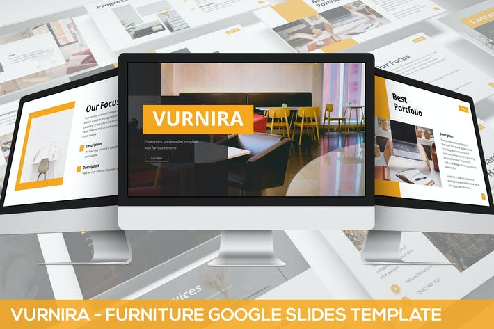 Thumbnail for Vurnira - Furniture Google Slides Template