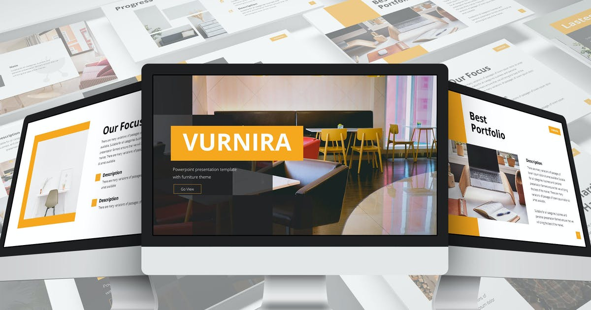 Download Vurnira - Furniture Google Slides Template by SlideFactory