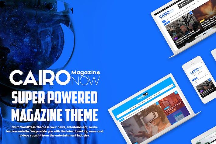 Thumbnail for Cairo - Newspaper & Magazine WordPress Theme