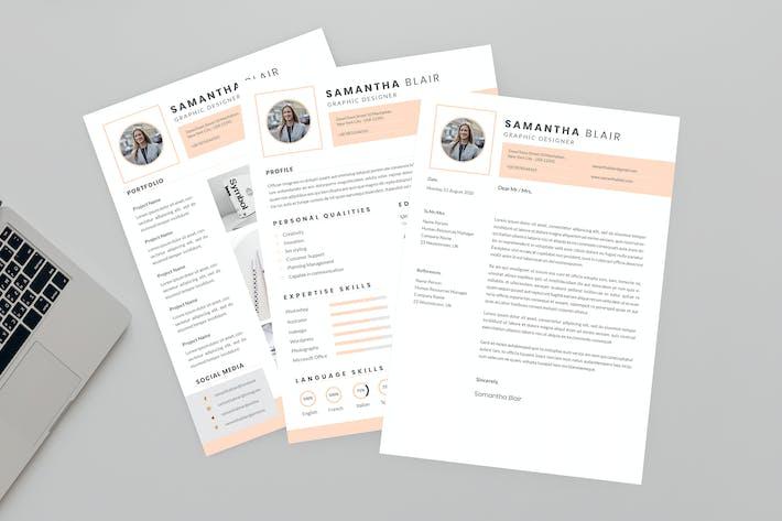 Thumbnail for Effort Resume Designer