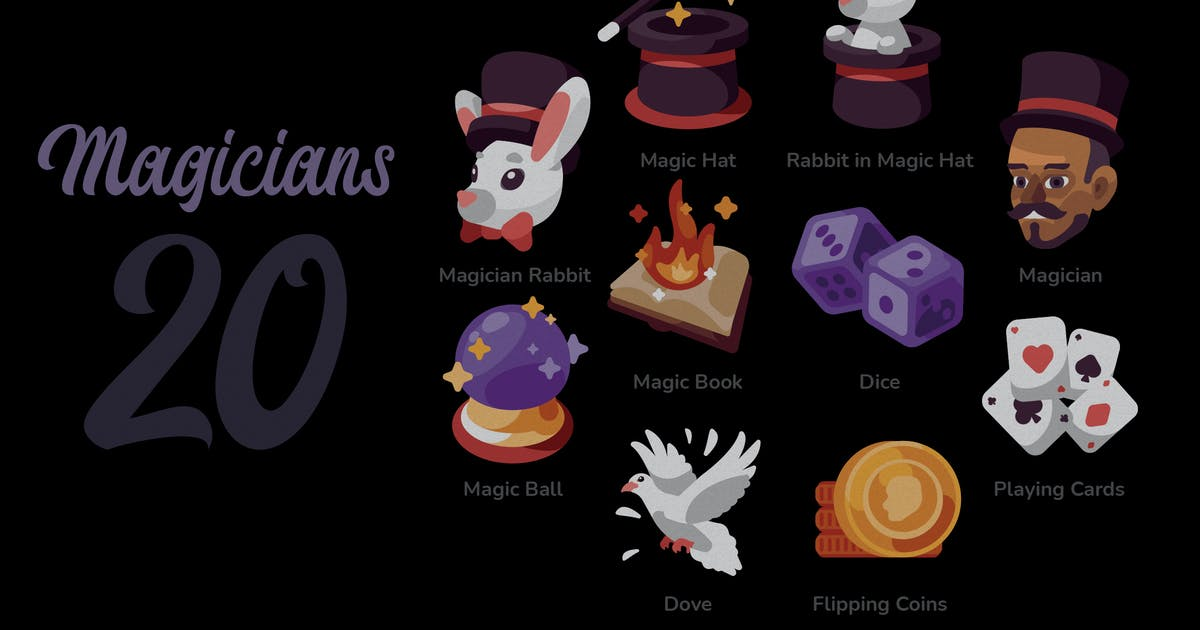 Download Magician - Illustration Sets by ilhamtaro