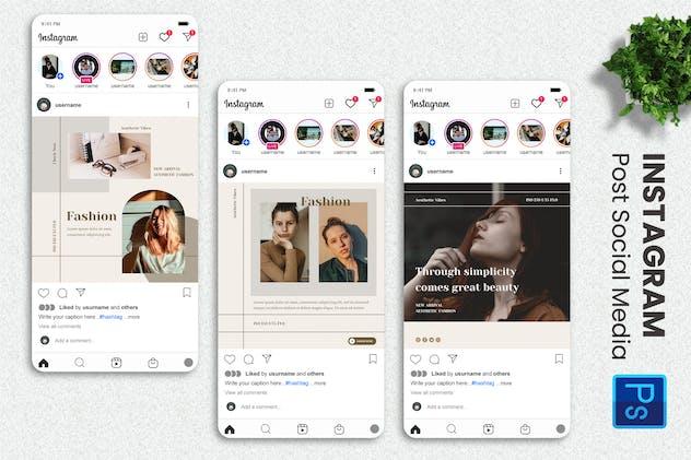 Folkei - Fashion Instagram Post Template