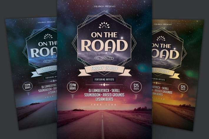 Cover Image For On The Road Flyer