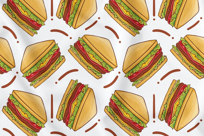 Nahtloses Sandwich-Muster