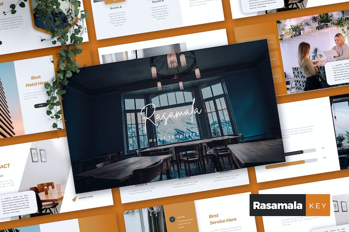 Thumbnail for RASAMALA - Hotel Keynote Template