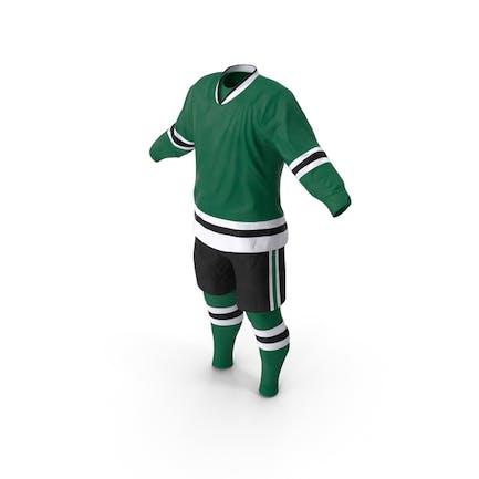 Eishockey Bekleidung Grün