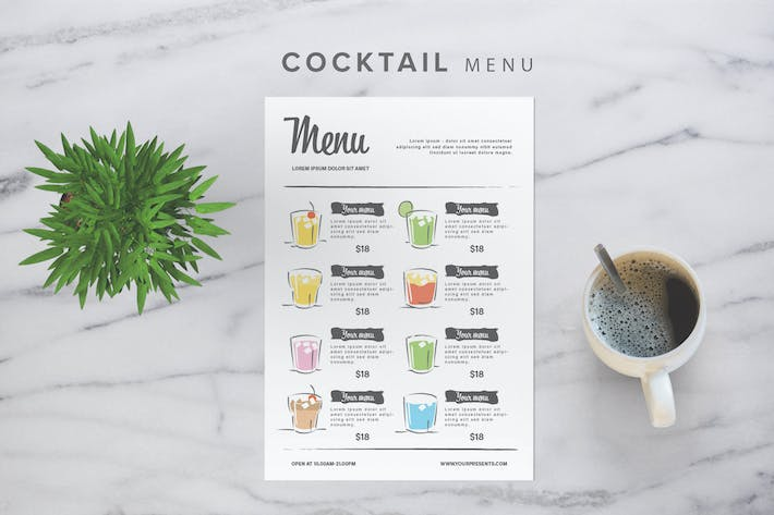 Thumbnail for Cocktail Menu