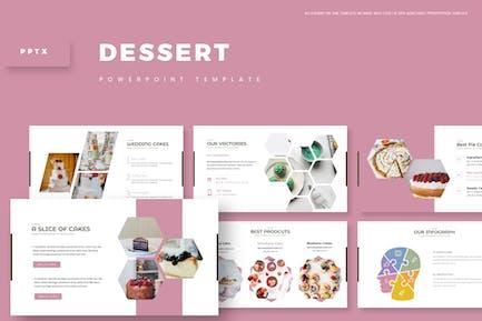 Dessert - Powerpoint Template