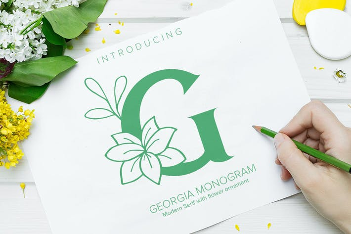 Thumbnail for Georgia Monogram