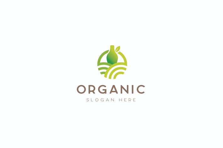 Thumbnail for Organic Product Food Farm Logo Template