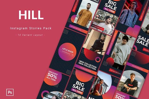Hill - Instagram Story Pack