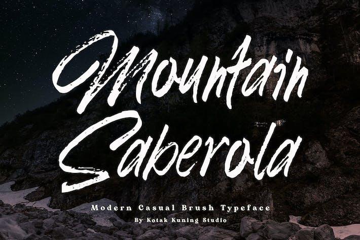 Thumbnail for Mountain Saberola - Fuente de pincel