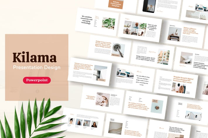 Thumbnail for Kilama - Шаблон презентации продукта Powerpoint