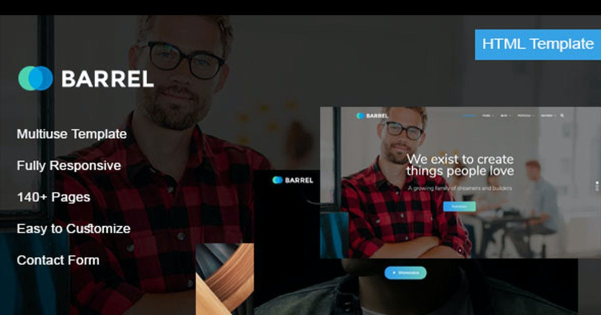 Download Barrel - Multiuse HTML Template by max-themes