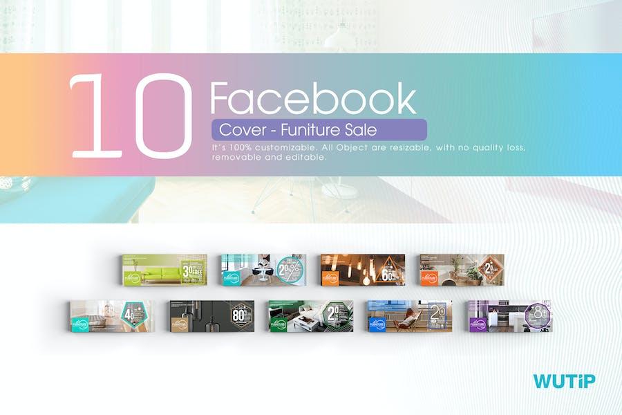 10 Facebook Cover-Furniture Sales