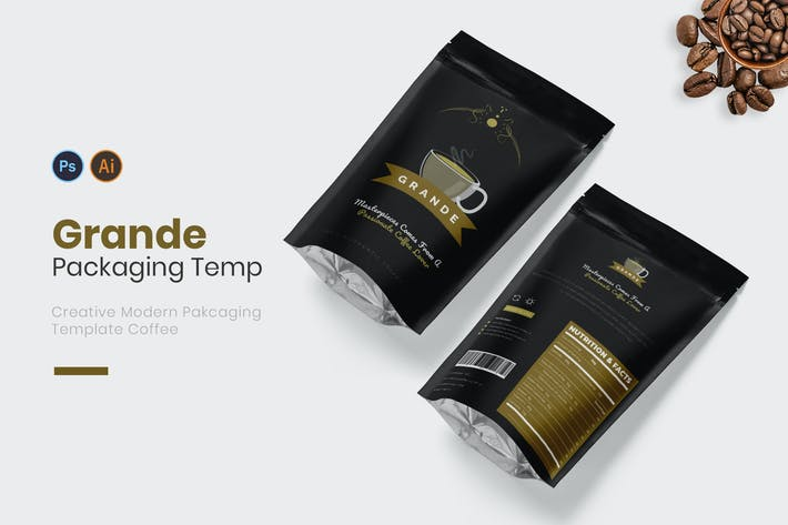 Thumbnail for Coffee Grande Packaging