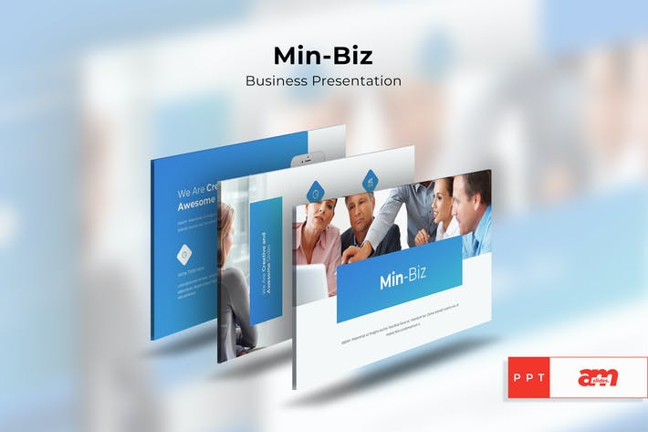 Thumbnail for Min-Biz Business Powerpoint