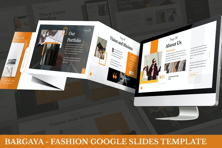 Cover Image For Bargaya - Fashion Google Slides Template