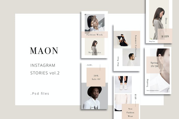Thumbnail for MAON - Instagram Stories vol.2