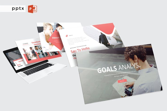 Thumbnail for GOALS ANALYS - Powerpoint  V407