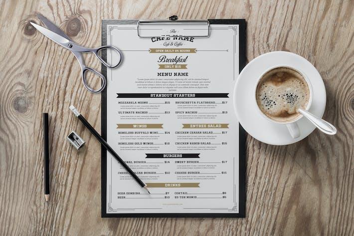 Thumbnail for Vintage Cafe & Cofee Menu