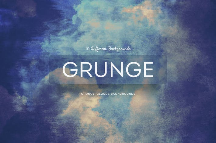 Thumbnail for Grunge  Clouds Backgrounds