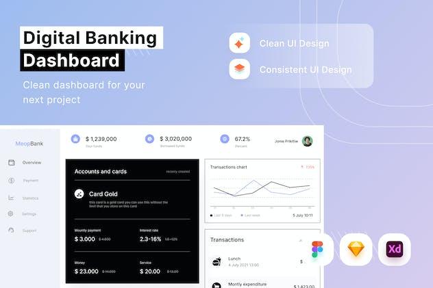 Digital Banking Dashboard