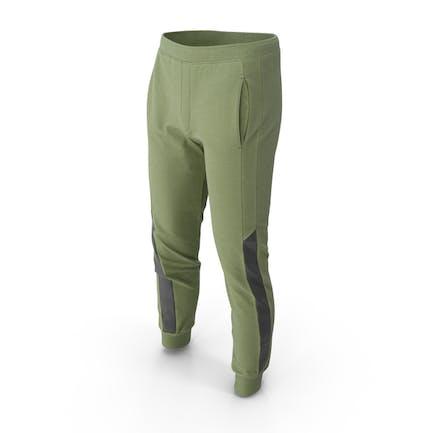 Pantalón Deportivo Hombre Verde