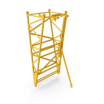 Crane F Intermediate Pivot Section Yellow