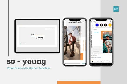 So Young - Keynote & Instagram Template