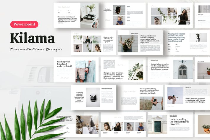 Thumbnail for Kilama II - Шаблон презентации Powerpoint