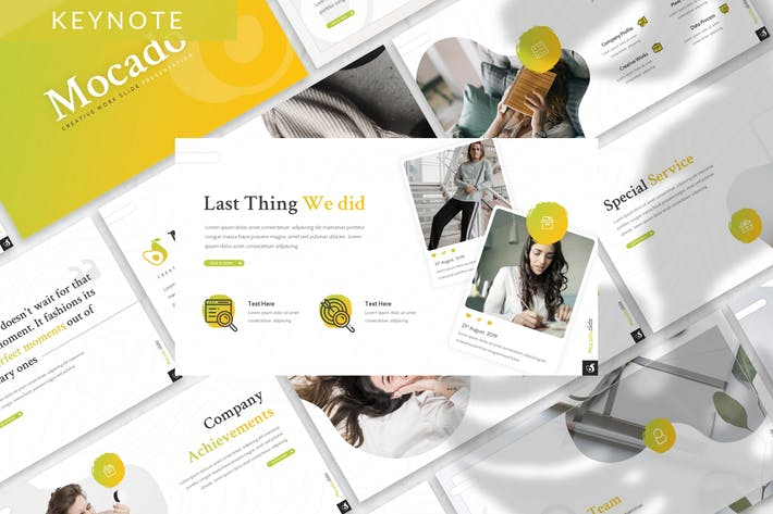 Thumbnail for Mocado - Business Keynote Template