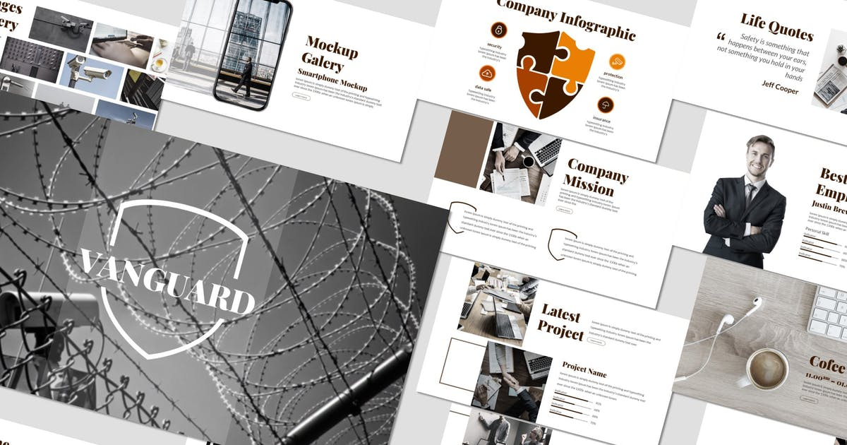 Vanguard - Keynote Template by inspirasign