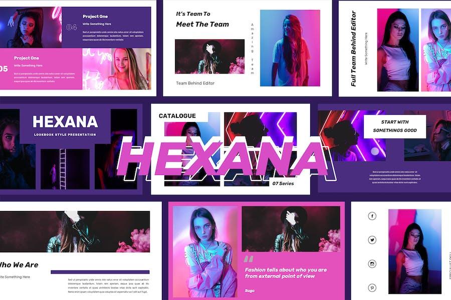 Hexana -  Google Slides Presentation
