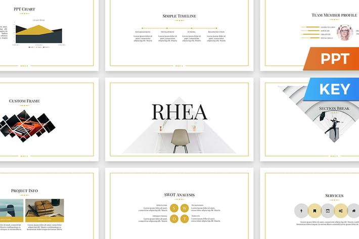 Thumbnail for Rhea Presentation Template