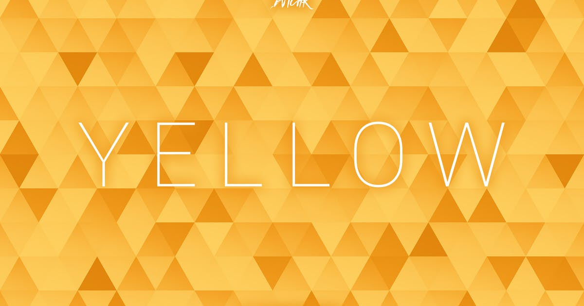Download Yellow | Abstract Triangles Mosaic Backgrounds by devotchkah