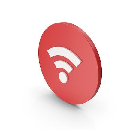 Wifi Икона Красный