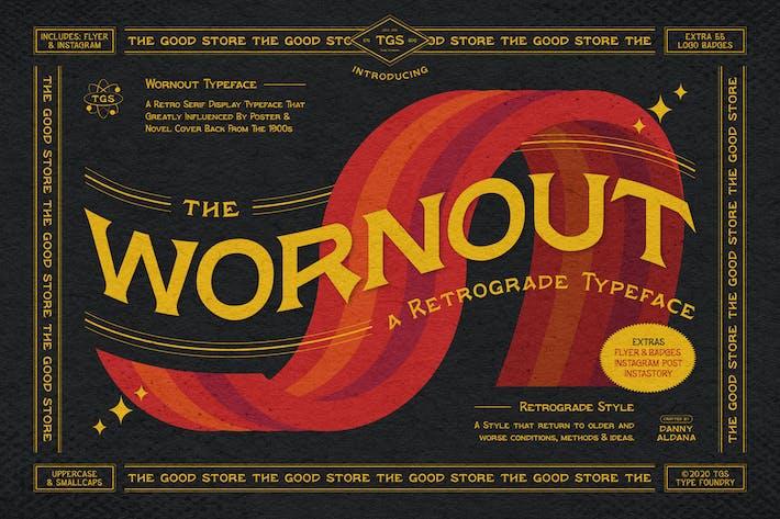 Thumbnail for Wornout Typeface