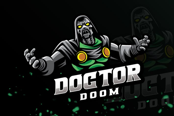 Thumbnail for Doktor Mascot Logo & eSport Gaming-Logo
