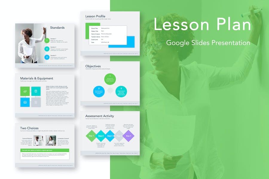 Lesson Plan Google Slides Template