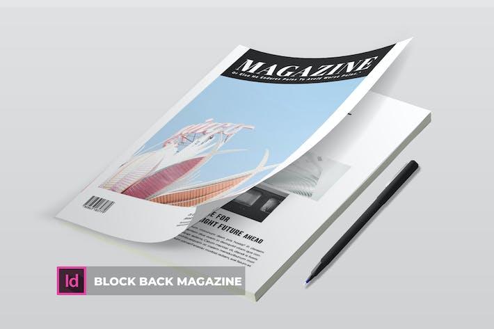 Thumbnail for Блок назад | Шаблон журнала