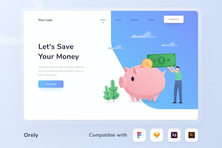 Thumbnail for Financial Web Header