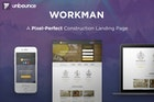 WorkMan - Construction Unbounce Landing page
